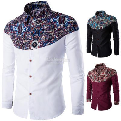 Men S Color Matching Personality Col End 4 7 2019 10 19 Pm