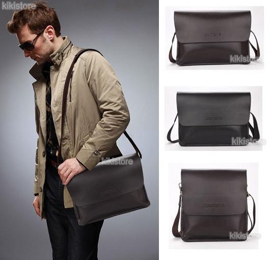 e8974b5e22 Men s Genuine Leather Handbag Messenger Shoulder Briefcase BAG. ‹ ›
