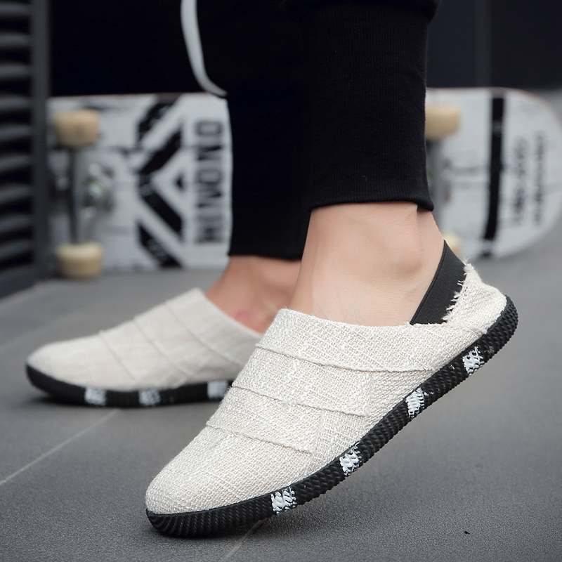 1be2bc3581cc Men s Knitted Casual Shoes Daily Wear Comfort Style Lazy Peas Fashion