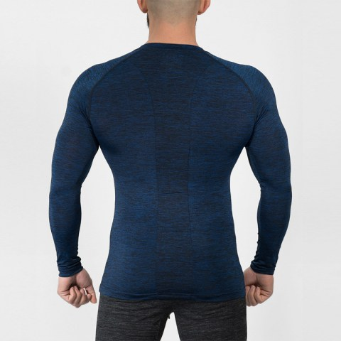 Men's Quick Dry Compression Baselayer Underlayer Top Long Sleeve T-Shi