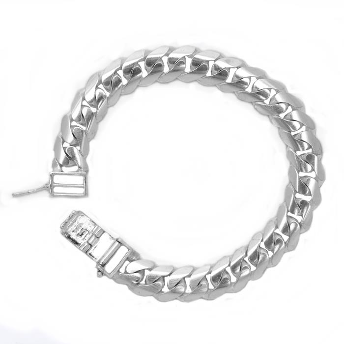 Men's Silver Bangle Curb | Bangle Lipan Silver Lelaki 30g