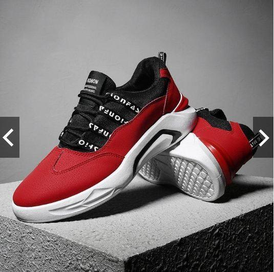 8d3f756937cb1 Men S Sport Casual Shoes Outdoor Black High Tops Flat Shoe. ‹ ›