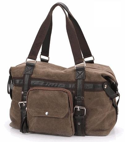 Men's Travel Canvas Bag AM81 (Ship with Pos Laju)