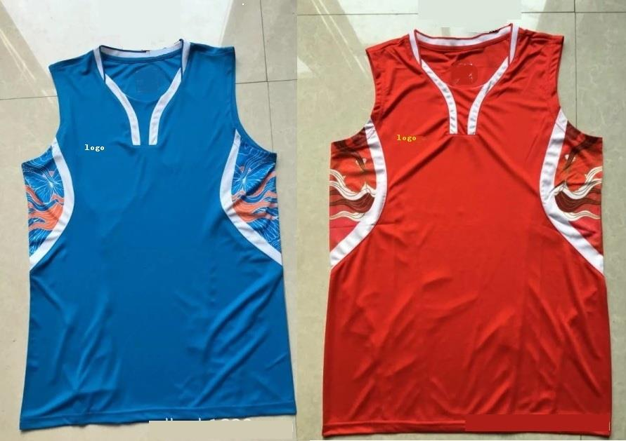 Men Sleeveless Badminton Jersey L1695