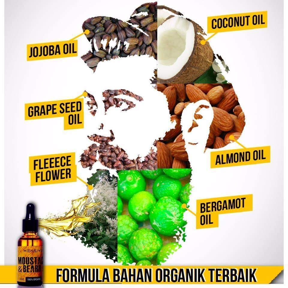 Mensive Moustache & Dream Beard Oil (MBO) Malaya Beard Oil Upgraded