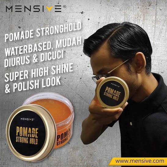 Mensive Strong Hold hair Pomade 150gm