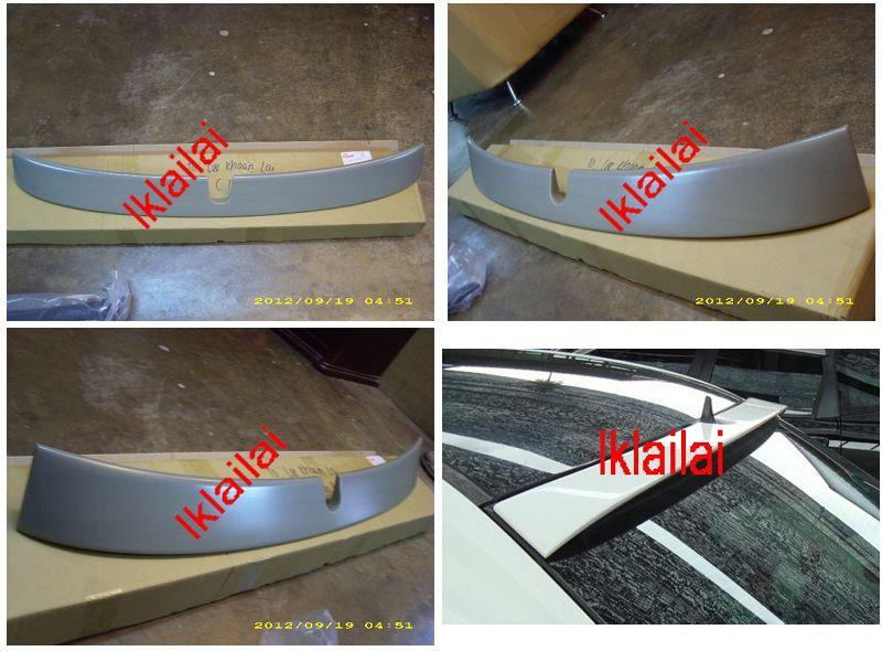 Mercedes Benz C-Class W203 `00-06 Rear Roof Spoiler ABS [W203-SR02-U]