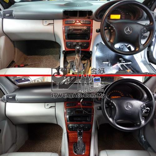 Mercedes-Benz C-Class W203 C200 Kompressor Car Air Cond Condenser