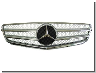 Mercedes Benz C-Class W204 '06 Front Grille AMG Style(SILVER,BLACK)[W2
