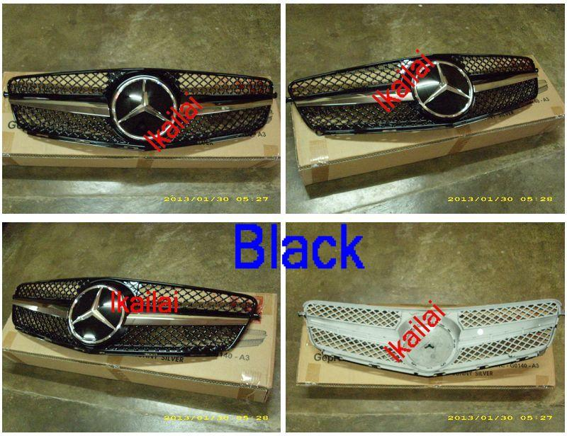 Mercedes Benz C-Class W204 `07 Front Grille SL Style [W204-FG01-U]