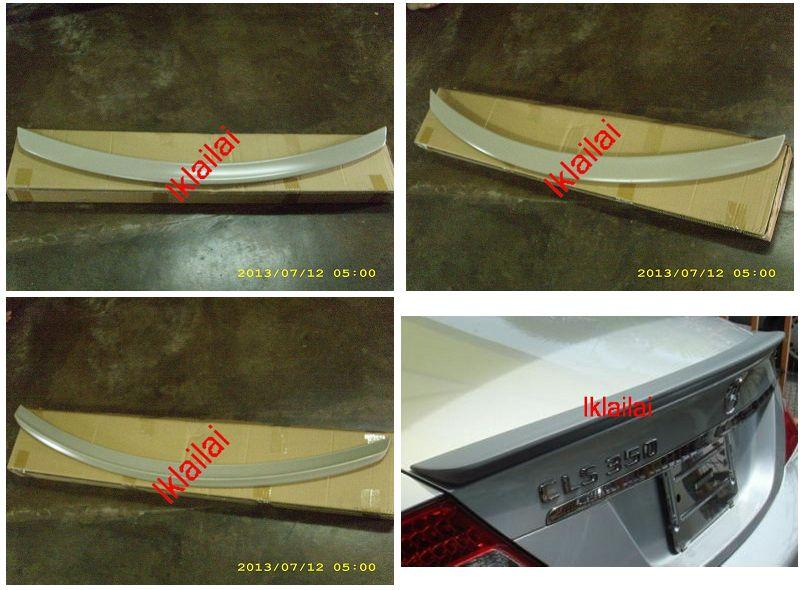 Mercedes Benz CLS W219 `05 Rear Trunk Spoiler ABS [W219-SR01-U]