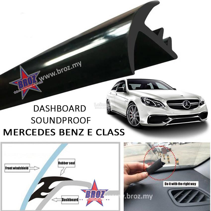 Mercedes Benz E Class(W110/W112/W114/W124/W123)T Shape Car Sound Proof