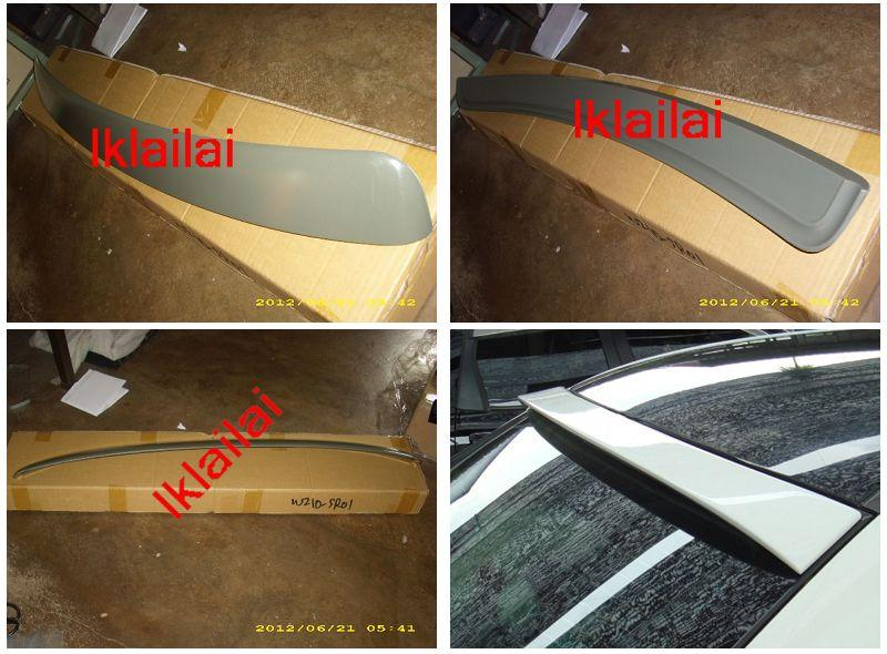 Mercedes Benz  E-Class  W210 `95-02  Rear Roof Spoiler ABS