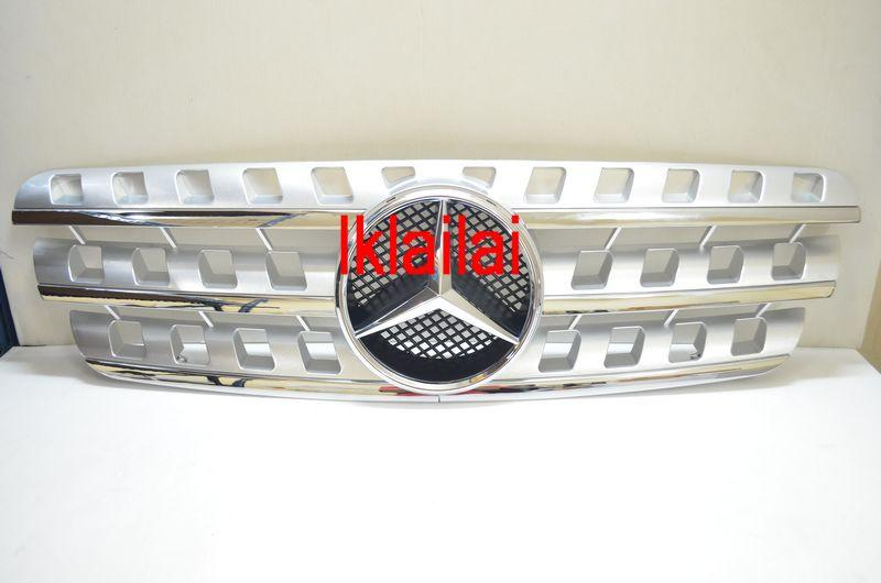 Mercedes Benz M-Class W163 `98-04 Sport Grille W164 Look Silver/Black