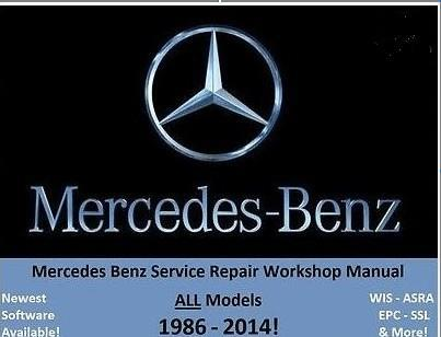 Amazing Mercedes Benz Repair Manual ALL MADES 1986 2014. U2039 U203a