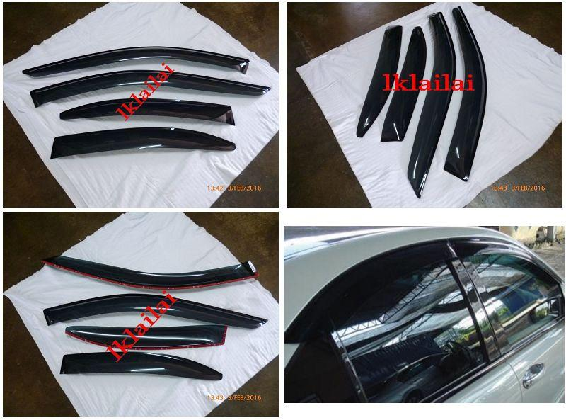 Mercedes Benz S-Class W220 '98-05 Air Press SEL Door Visor [4pcs/set]