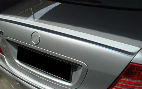 Mercedes Benz S-Class W220 `98-05 Rear Trunk Spoiler [W220-SR01-U]