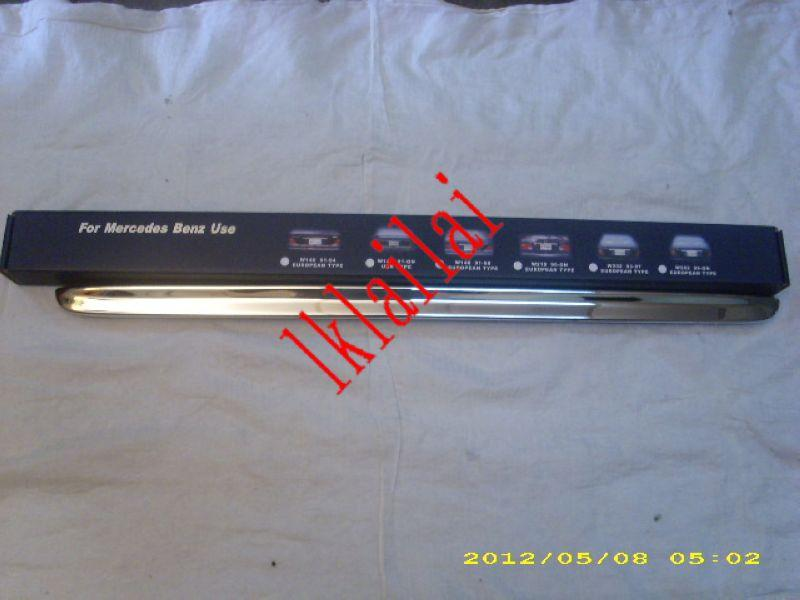 Mercedes Benz W140 `94-97 Trunk Lid Chrome Moulding S/Steel [Europe]