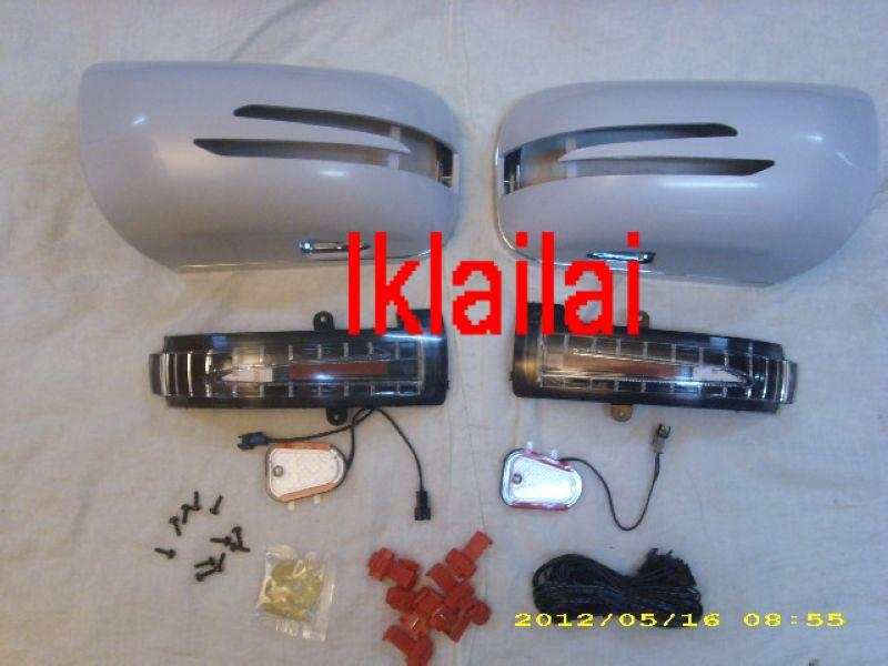 Mercedes Benz W140 Door Mirror Cover With Arrow LED+Manner Light
