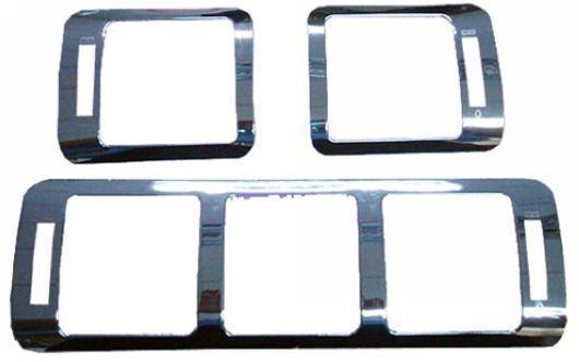 Mercedes Benz W163 `98-04 A/C Frame Cover S/Steel 3pcs/set [W163-AC01-