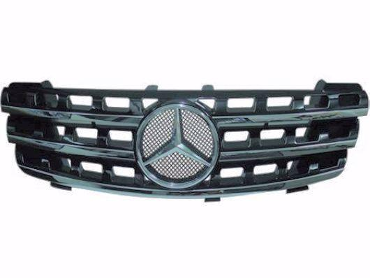 Mercedes Benz W164 `05 Front Grille Sport `09 Facelift Look [Black/Sil