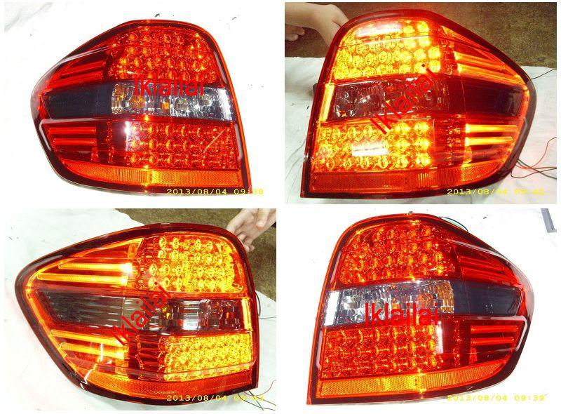 Mercedes Benz W164 Crystal LED Tail Lamp with GCi Bar