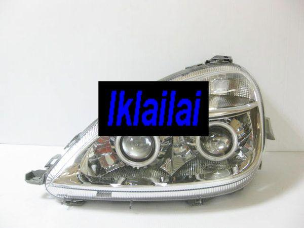 Mercedes BENZ W168 '98-'03 Dual Projector Head Lamp with CCFL Ring