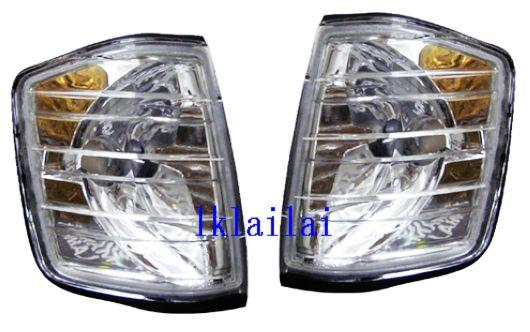 Mercedes Benz W201 `82-93 190E Corner Lamp Crystal Clear [W201-CL01-U]