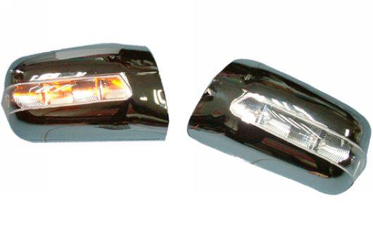 Mercedes Benz W202 `94-99 Door Mirror Cover W/Light [Chrome/Painted]