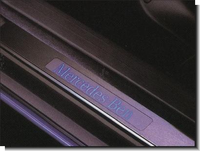 Mercedes Benz W202 `94-99 Door / Site Sill Plate LED [W202-DS01-U]