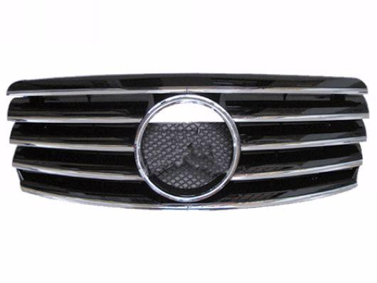 Mercedes Benz W202 `94-99 Front Grille CL Style [Black/Silver/Chrome/W