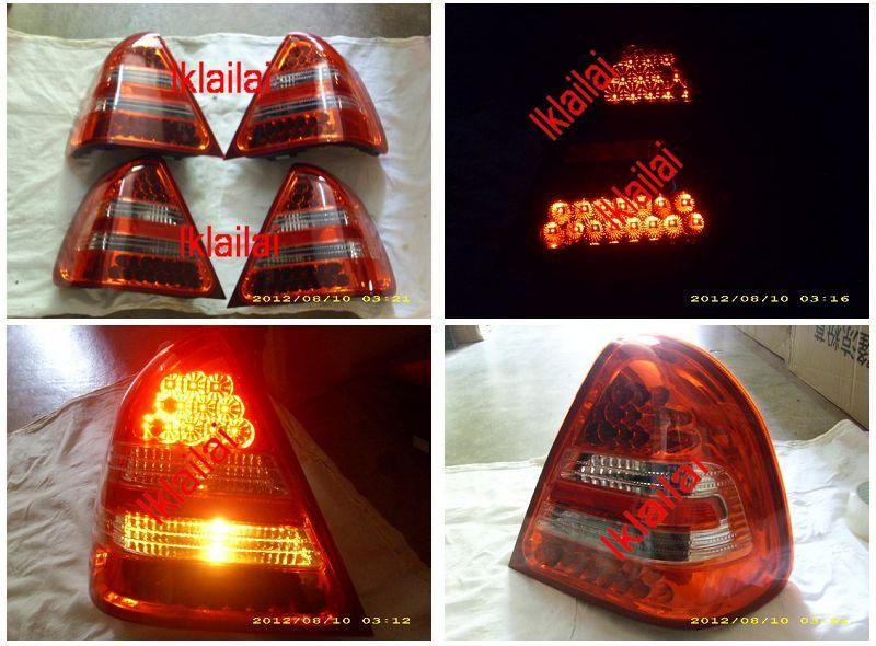 Mercedes Benz W202 `94-99 LED Tail Lamp Crystal [W202-RL06-U]