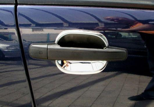 Mercedes Benz W202 `94-99 Outer Door Handle Chrome S/Steel [W202-DH01-