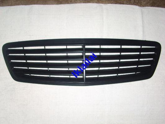 Mercedes Benz W203 Front Grille 9pcs Moulding [All Black][W203-FG05-U]