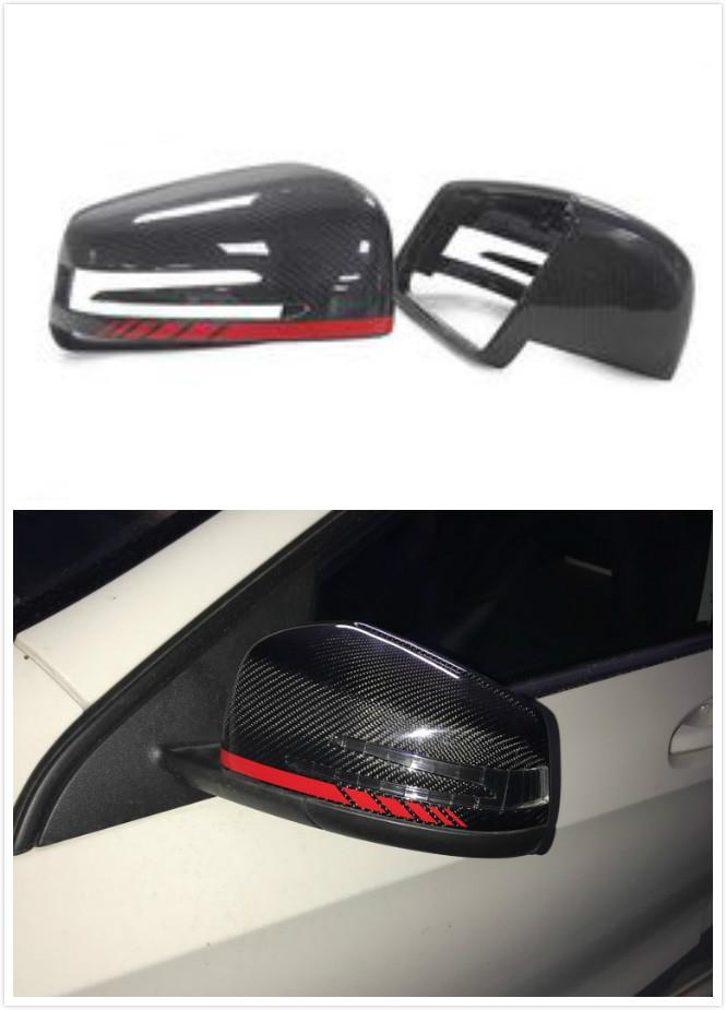 Mercedes Benz W204 W212 W176 C E A Replacement Carbon Side Mirror