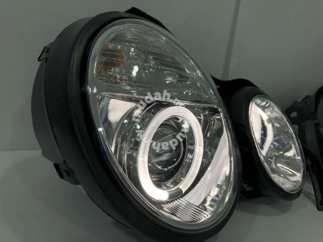 Mercedes Benz W210 95-98 Led Ring Head Lamp Taiwan