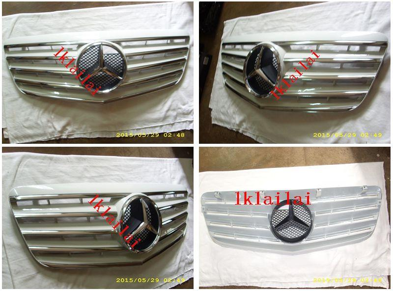 Mercedes Benz W211 `07 CL Sport Grille [White/Chrome/Black/Silver]