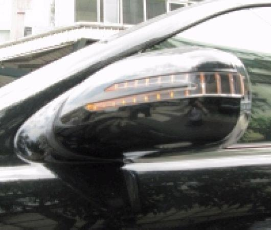 Mercedes Benz W220 '98-05 Door Mirror Cover W/Light Arrow Type+Manner