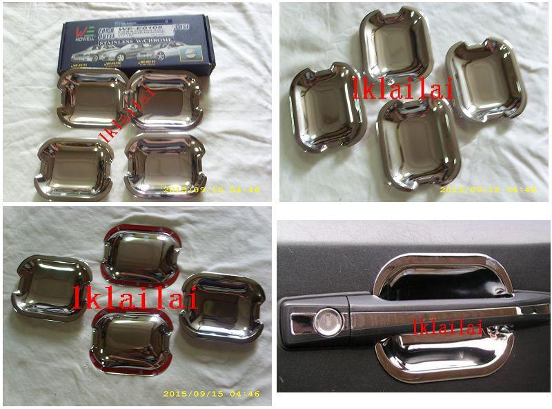 Mercedes E-Class W124 '86-95 Outer Door Handle Cover S/Steel 4pcs/set