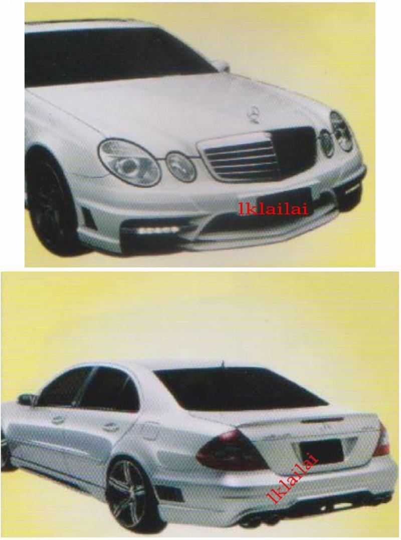 Mercedes W211 Black Bison [Front +Rear Bumper + Side Skirt + Spoiler ]
