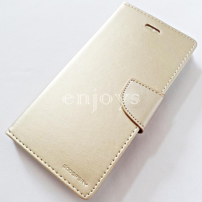 MERCURY BRAVO Diary Case Cover Apple iPhone 7 Plus (5.5) ~GOLD *XPD