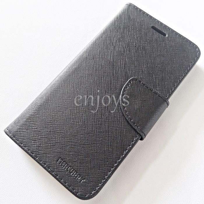 MERCURY Fancy Diary Book Case Cover Huawei Honor 6A Pro (5.0) ~BLACK