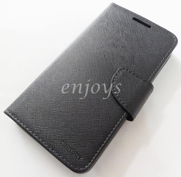 MERCURY Fancy Diary Book Case Cover Lenovo A850+ Plus ~BLACK *XPD