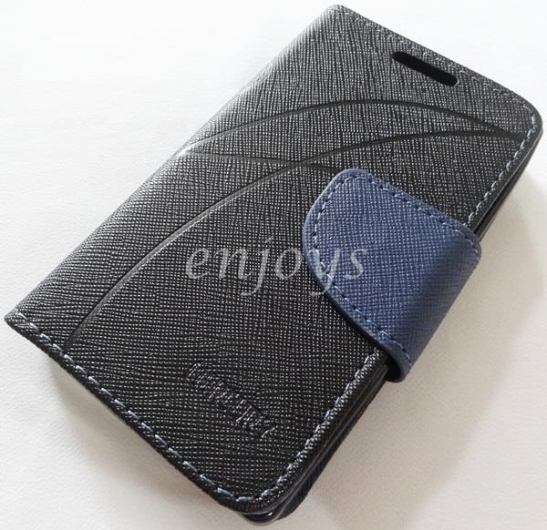 MERCURY Fancy Diary Book Case Cover Nokia X Dual Sim / A110 ~BLACK