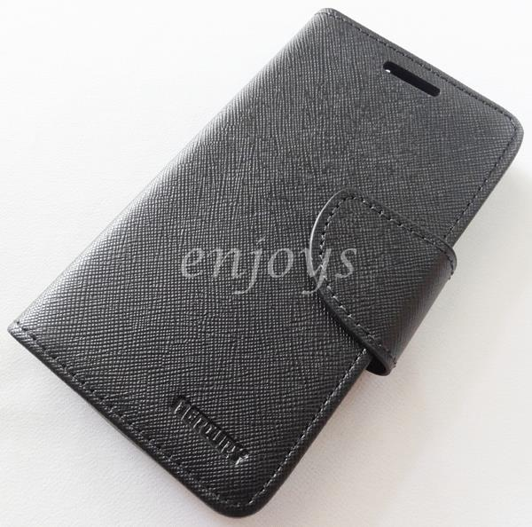 MERCURY Fancy Diary Book Case Cover Pouch Lenovo A1900 ~ALL BLACK *XPD
