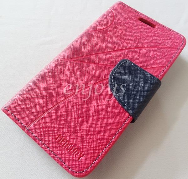 MERCURY Fancy Diary Book Case Cover Pouch Lenovo A516 ~Hotpink *XPD