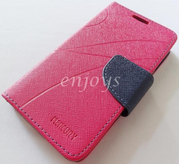 MERCURY Fancy Diary Book Case Cover Pouch Lenovo A630 ~Hotpink *XPD