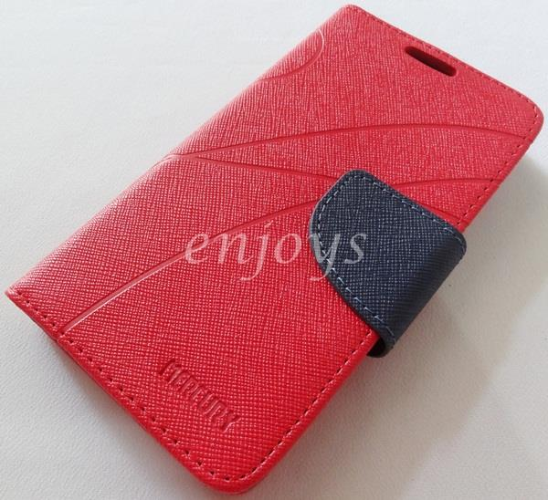 MERCURY Fancy Diary Book Case Cover Pouch Lenovo S720 ~Red *XPD