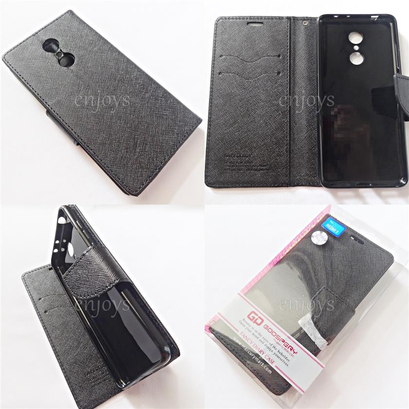 MERCURY Fancy Diary Book Soft Case Flip Cover Xiaomi Redmi 5 (5.7')