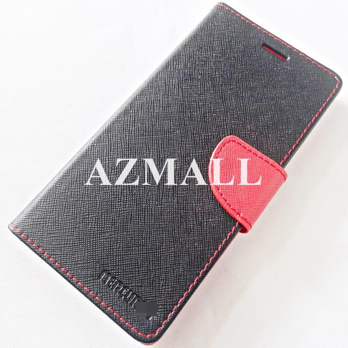 "MERCURY Fancy Diary Case Book Flip Cover for Realme 2 (6.2"") ~BLACK"